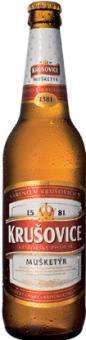 Pivo světlý ležák 11° Mušketýr Krušovice