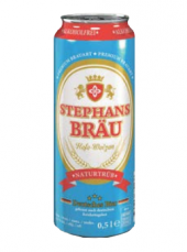 Pivo nealkoholické Hefeweizen Stephans Bräu
