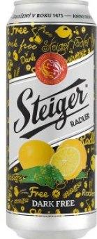 Nealkoholické pivo ochucené Steiger