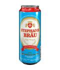 Pivo nealkoholické pšeničné nefiltrované Hefeweizen Stephansbräu