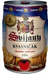 Pivo nefiltrované světlé 13° Kvasničák Svijany - soudek