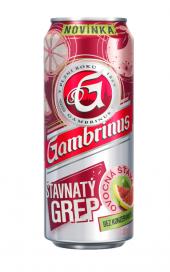 Pivo ochucené Gambrinus