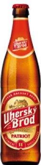 Pivo světlý ležák 11°  Patriot Pivovar Uherský Brod