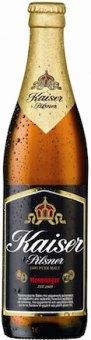 Pivo světlý ležák 12° Pilsner Kaiser Mythos Brewery