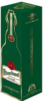 Pivo světlý ležák Retro láhev Pilsner Urquell