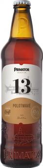 Pivo polotmavé speciální 13° Primátor