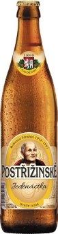 Pivo světlé Jedenáctka Postřižinské Pivovar Nymburk