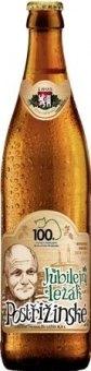 Pivo ležák Jubilejní Postřižinské Pivovar Nymburk