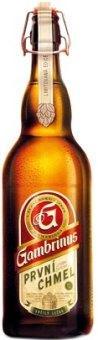 Pivo ležák První chmel Gambrinus