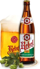 Pivo světlé výčepní Rebel Pivovar Havlíčkův Brod