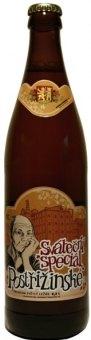 Pivo světlé speciální 14° Sváteční Postřižinské Pivovar Nymburk