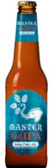 Pivo speciální polotmavé nefiltrované Red IPA Master