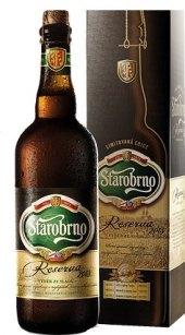 Pivo speciální polotmavé Reserva Starobrno
