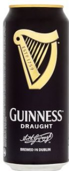 Pivo Stout Draught Guinness