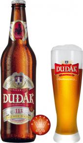 Pivo světlý ležák nepasterizovaný 11° Strakonický Dudák