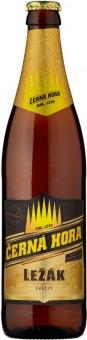 Pivo světlý ležák 12° Černá hora