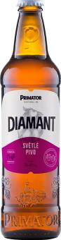 Pivo světlé dia Diamant Primátor