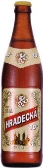 Pivo světlé výčepní 10° Hradecká Pivovar Havlíčkův Brod