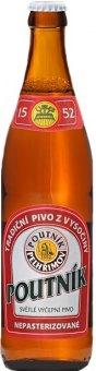 Pivo světlé výčepní 10° Poutník