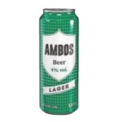Pivo světlé výčepní Ambos