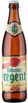 Pivo světlý ležák 12° Bohemia Regent