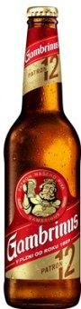 Pivo světlý ležák 12° Patron Gambrinus