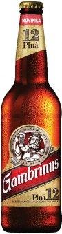 Pivo světlý ležák 12° Plná Gambrinus