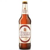 Pivo světlý ležák 12° Premium Pivovar Zubr
