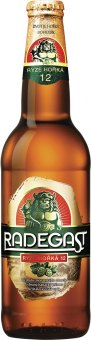 Pivo světlý ležák 12° Ryze hořká Radegast
