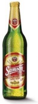 Pivo světlý ležák 12° Samson