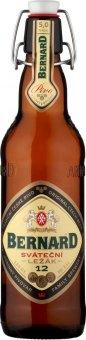 Pivo světlý ležák 12° Sváteční  Bernard