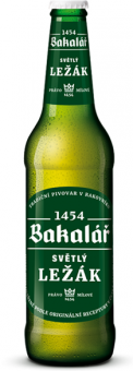 Pivo světlý ležák Bakalář