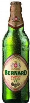 Pivo světlý ležák Bernard