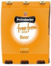 Pivo světlý ležák bez lepku Free From Perlenbacher