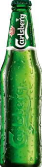 Pivo světlý ležák Carlsberg