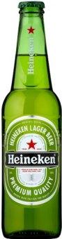 Pivo světlý ležák Heineken