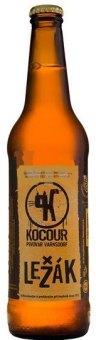Pivo světlý ležák nepasterizované 12° Kocour