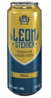 Pivo světlý ležák Premium Leonsteiner