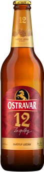 Pivo světlý ležák Premium Ostravar