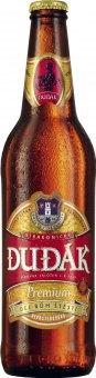 Pivo světlý ležák Premium Strakonický Dudák