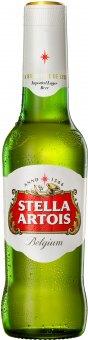 Pivo světlý ležák Stella Artois