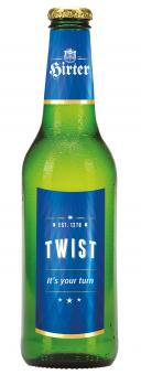 Pivo světlý ležák Twist Hirter