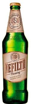 Pivo světlý nefiltrovaný pšeničný ležák Staropramen