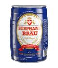 Pivo světlý pšeničný nefiltrovaný ležák Hefeweizen Stephansbräu - soudek