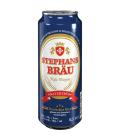 Pivo světlý pšeničný nefiltrovaný ležák Hefeweizen Stephansbräu