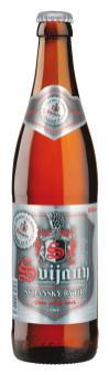Pivo světlý ležák 12° Svijanský rytíř Svijany
