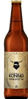 Pivo tmavé speciální 16° Vratislavický Ale Konrad