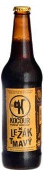 Pivo tmavý ležák 12° Kocour