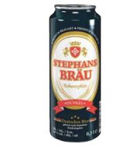 Pivo tmavý ležák Schwarzbier Stephans Bräu