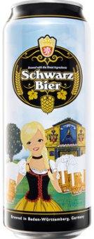 Pivo tmavý ležák Schwarzbier